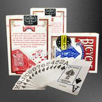 Buy cheap USA Bicycle Jumbo Paper Gambling Props / Poker Size Two Jumbo Index Playing Cards product