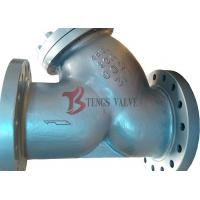 Buy cheap Class 300LB Wye Type Strainer Butt Weld BW Ends Low Fluid Resistance product