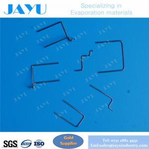 Buy cheap Filamento do tungstênio da fonte de íon do filamento de /Cathode do filamento do E-feixe com material do tungstênio da pureza alta product