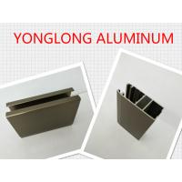 Buy cheap Electrophoresis Matte Or Flat Bronze Aluminum Window Profiles Length Shape Customized product