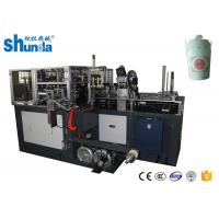 Buy cheap CE Certificated Paper Noodle Box Doner Box Making Machine With Hot Air / Ultrasonic Device product