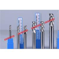 Buy cheap Standard Length Type 2 Flute Aluminum End Mill For Aluminum Bright Finish No Coating product
