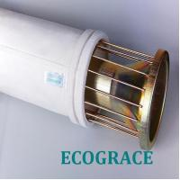 Buy cheap Mild / Stainless Steel Filter Bag Cage With 12 / 16 Wires , Silicon Coating product