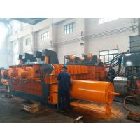 Buy cheap Automatic Control Power 180kW Scrap Baler Machine , Hydraulic Baling Press from wholesalers