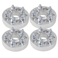 """1"""" (25mm) Hubcentric 5x100 Wheel Spacers for Subaru Forester WRX M12-1.25"""