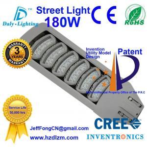 Buy cheap A luz de rua 180W do diodo emissor de luz com CE, RoHS certificou e lâmpada refrigerando da estrada da eficiência do melhor feita em China product