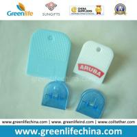 China Colored Semi-Circle Shape Plastic Office Stationery Supply Paperclips on sale