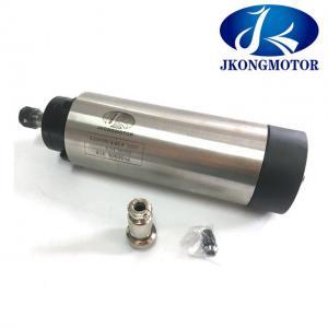 0.8KW ER11 3 Phase Spindle Motor , Air Cooled Ac Spindle Router Motor 10V / 220V