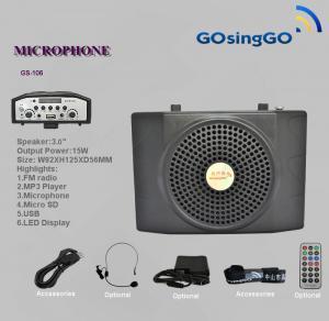 China amplificador portátil alto da voz da faixa do microfone wholesale