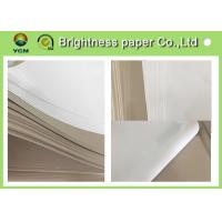 C1S Grey Cardboard Paper Clay Coated News Board 230gsm Water Resistance