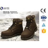 Buy cheap ESD PPE Safety Shoes Construction Work With Metatarsal Protection USA Military product