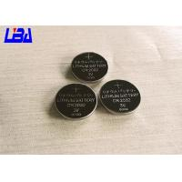 Buy cheap Standard CR2032 240mAh Lithium Button Batteries For Watch Electric Toys product