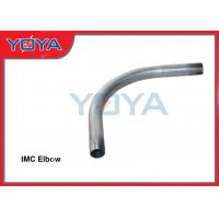 Buy cheap Round Galvanized Conduit Elbow , 90 Degree l IMC / Rigid Conduit Elbow from wholesalers