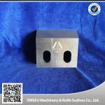 Buy cheap Triple Tempt Zerma Plastic Crusher Blades , Plastic Granulator Parts HRC 56-58 product