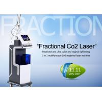 Buy cheap 10600nm Co2 Fractional Laser Treatment Machine For Skin Resurfacing / Acne Scars from wholesalers