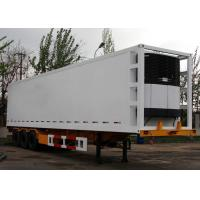 Buy cheap 45 Foot GRP Sandwich Refrigerated Truck Trailer For Freezing And Fresh Cargos product