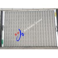 Buy cheap Replacement Shale Shaker Screen Wave Typed 1050 X 695 mm In Oilfield FLC 500 product