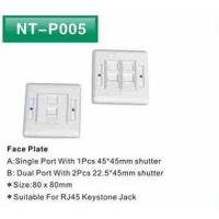 Face Plate 1 port  86*86mm
