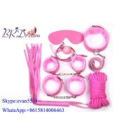 Buy cheap Pink Plush Sex Game Fetish Bondage Fetish Toys Kits , Restraints Sex Toys product