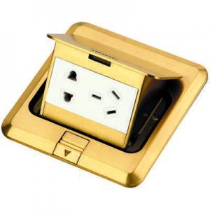 Buy cheap DCT-628/GG  Brass Pop up floor box product
