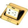 Buy cheap DCT-628/GG Brass Pop up floor box from wholesalers