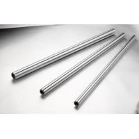 Buy cheap Precision HRC 58 - 62 Solid Shaft , Steel Hollow Shaft With  Induction Hardend , Chorme Plated product