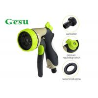 China Garden Irrigation Hand Held Spray Nozzles 3/4 Water Inlet 8 Function Sprinkler on sale