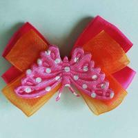 Buy cheap Butterfly Toddler Girl Hair Accessories Multi Layer Use On Different Occasions product
