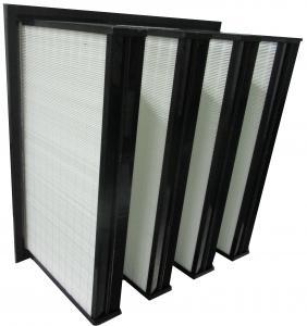 Buy cheap Тип фильтры коробки системы вентиляции пластиковой рамки АБС мини плиссированный банка в from wholesalers