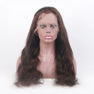 Buy cheap Estilo libre 8-26 pulgadas de #4 Bdoy de la onda de densidad completa de las pelucas de cordón el 130% en existencia product