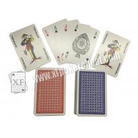 Buy cheap Gambling Toolment NO.1 Red / Narrow Size 4 Small Index Paper Playing Cards product