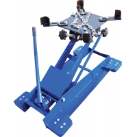 Buy cheap Car Lifting Saddle 0.5T 4 Casters Hydraulic Transmission Jack product