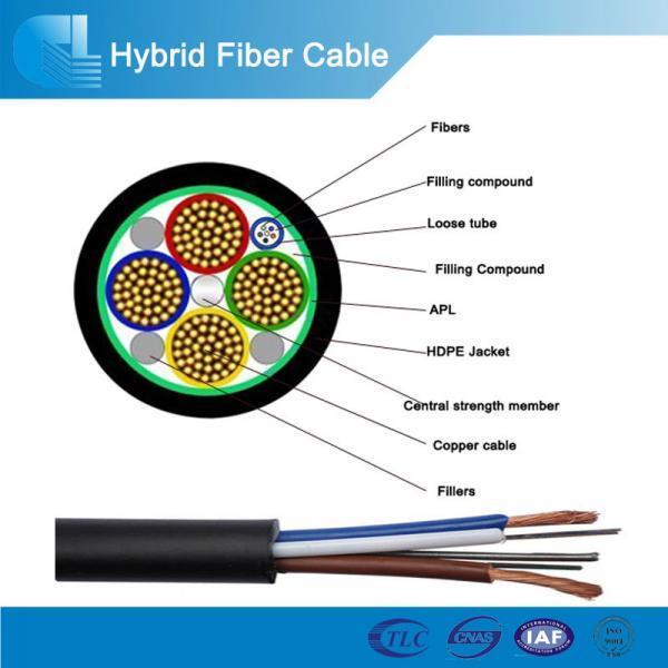 Single mode/multi mode hybrid fiber optic cable - 102944479