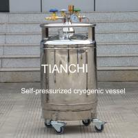 Buy cheap TianChi YDZ-100 self-pressured cryogenic vessel price in PL product