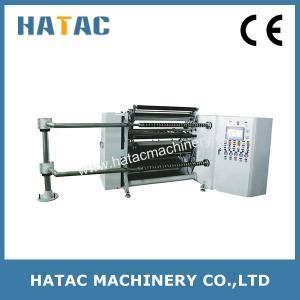 China Automatic Kraft Paper Slitting Rewinding Machine,High Speed Laminated Paper Slitter Rewinder,PET Slitting Machine on sale