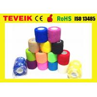 Latex free Medical Supply Printed Cohesive Elastic Bandage with factory price
