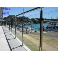 Buy cheap High End Quality Satin Finish Stainless Steel Post Railing product