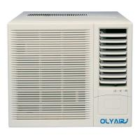 Buy cheap 12000btu R32 window air conditioner remote control cool and heat support product