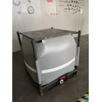 Quality Grey Recycled PVC Liquid Jumbo Bag Stainless Steel Pallet Available 1 Ton / for sale