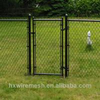 Pvc coated and galvanized chain link pet fence for dogs