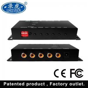 HD SD Mini Vehicle Mobile DVR 4CH Video Audio Recorder 1920 * 1080P Resolution