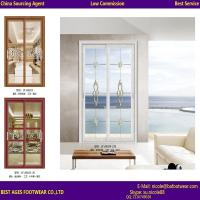 China china supplier interior frosted glass aluminum sliding doors for bathrooms on sale