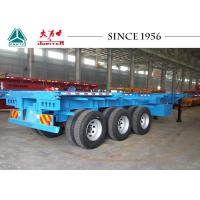 Buy cheap 20/40/45 FT Container Transport Trailer Superior Carrying Capacity With BPW Axles product