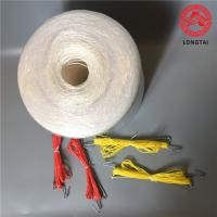 Buy cheap Hanging Raw White  Tomato Tying Twine With Hook 100% Polypropylene For Agricultural product