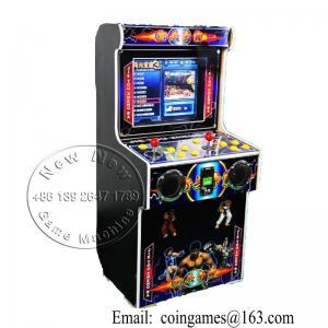 Máquina de juego video de fichas de Street Fighter del gabinete de la arcada de los niños multi de los juegos mini