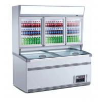 Buy cheap 2.5m Upright Combination Freezer And Chiller With Large Space For Supermarket product