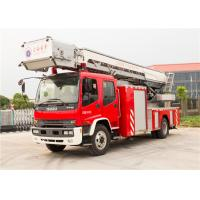 Buy cheap Four Door Structure Aerial Ladder Fire Truck product