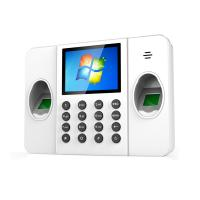 Buy cheap High Tech TCP/IP Double Fingerprint Time Attendance with Free Software for from wholesalers