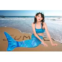 Buy cheap Bright Fabric Little Kid Mermaid Tails Mermaid Tails With Protectors / Monofin product