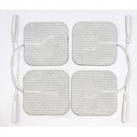 Buy cheap Medical Electrodes Reusable TENS Pads , Back Massage Electrode Pad product